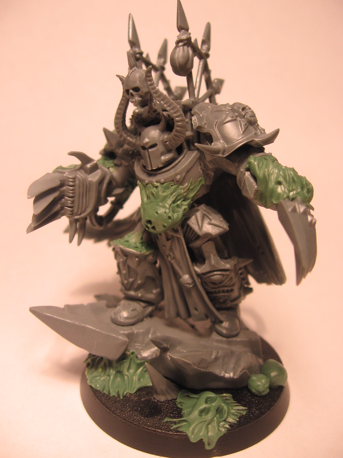 Nurgle Chaos Terminator Lord – WIP – When Cannons Fade…