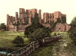 Kenilworth Castle in the 1800's