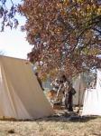 Scene in the Confederate camp