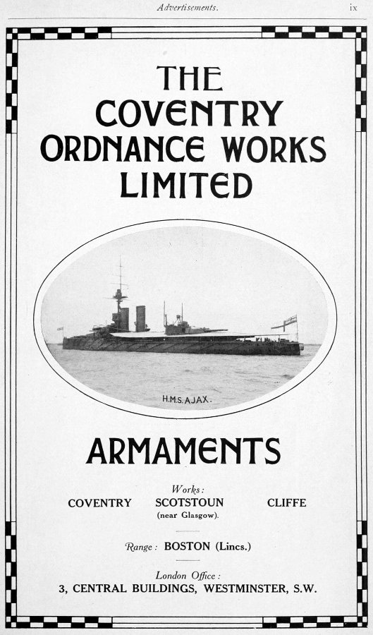 Coventry_Ordnance_Works_advertisement_Brasseys_1915